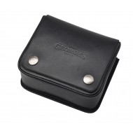 Small Safety Lock Leather Pouch Arsene - Sellerie Georges