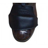 Medium Size Leather Shoe Protection Chat Botté - Sellerie Georges