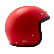 Casque Vintage Metallic Red - DMD
