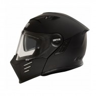 Modular Full Face Darksome Helmet - Simpson