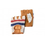 De Franc beige bicycle Gloves - Thousand
