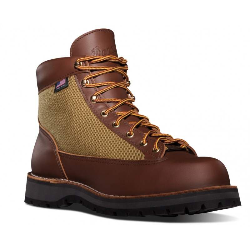 Chaussures Danner Light Marron - Danner - Vue de 3/4 avant