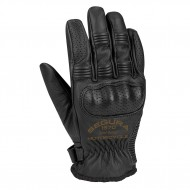 yellow Cassidy motorcycle gloves - Segura