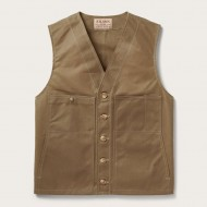 Oil Tin Cloth Vest - Filson