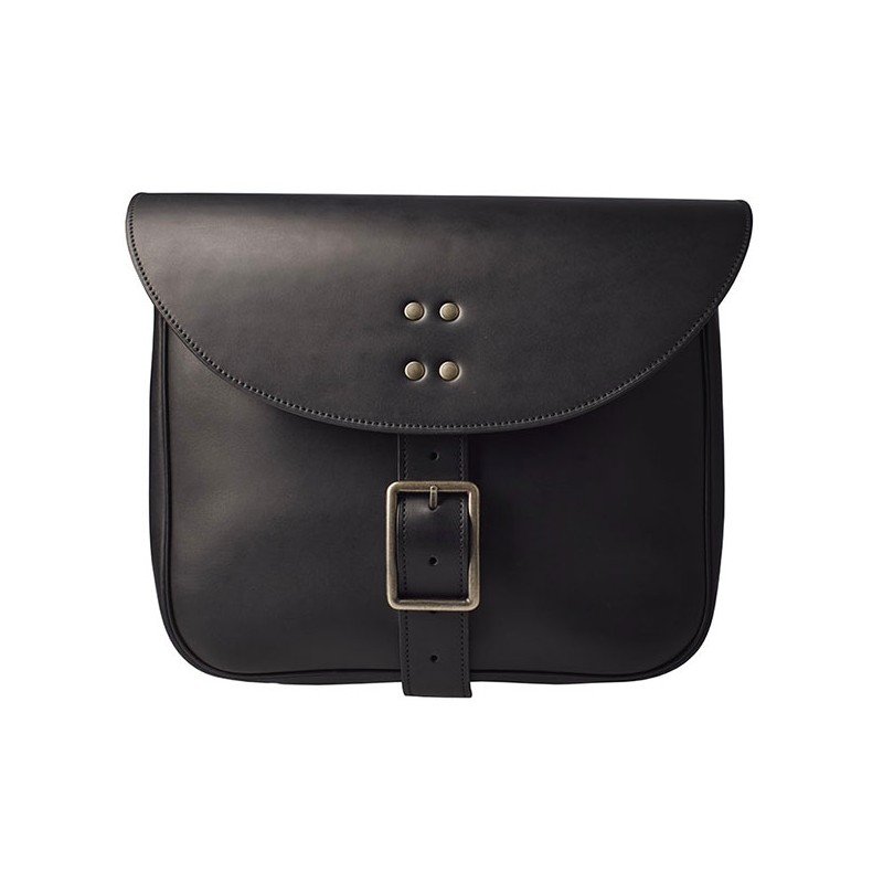 Small Side Leather Bag City- Sellerie Georges