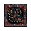 Silk and cotton scarf Aztec - DMD