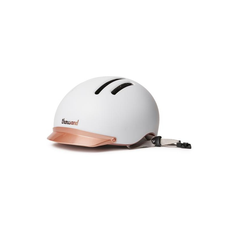 Supermoon White Chapter bicycle helmet - Thousand