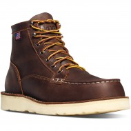 Brown Bull Run Moc Toe Shoes - Danner