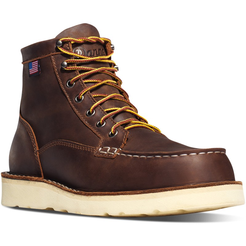 Chaussures Bull Run Moc Toe Marron - Danner