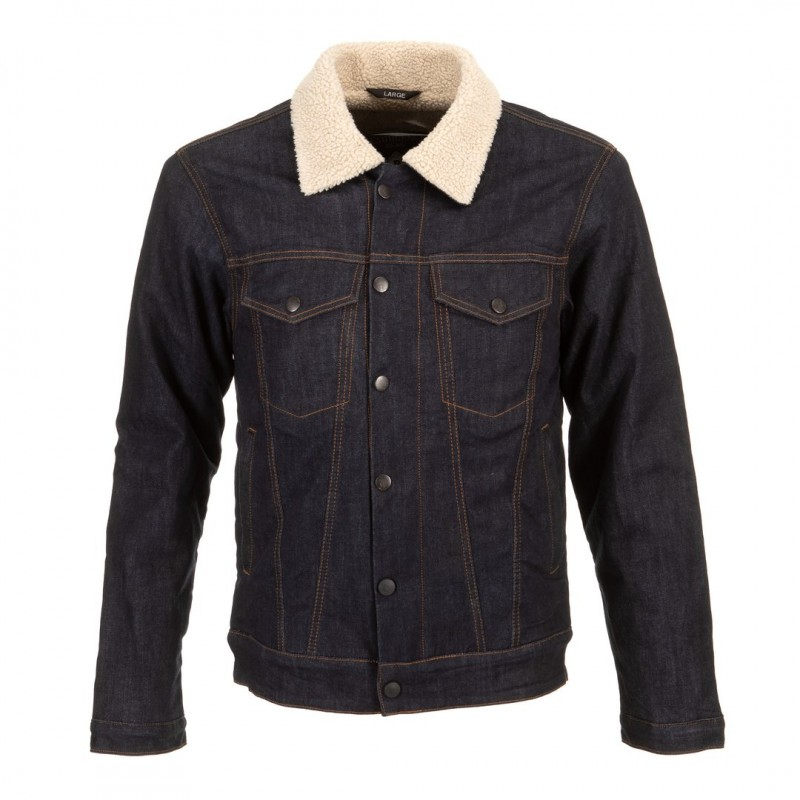 Denim Sherpa Jacket -  Resurgence