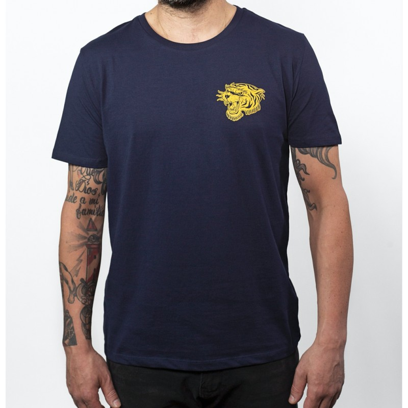 Navy Tiger T Shirt - John Doe