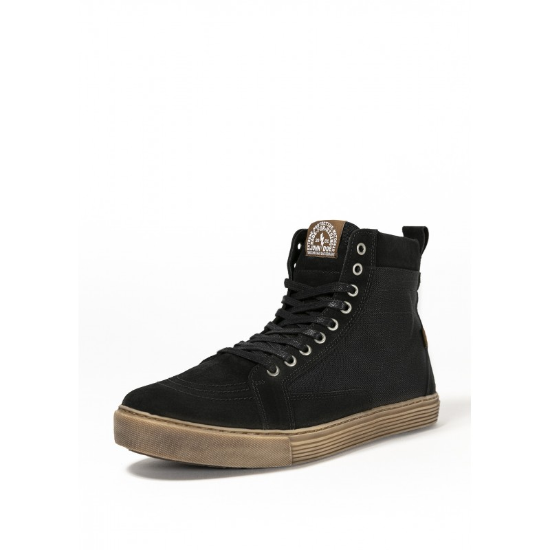 Black Neo motorcycle Sneakers - John Doe