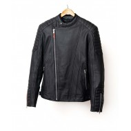 Loubard motorcycle leather jacket - Garage Français