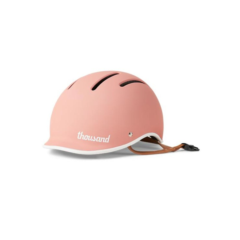 Power Pink child bicycle helmet - Thousand