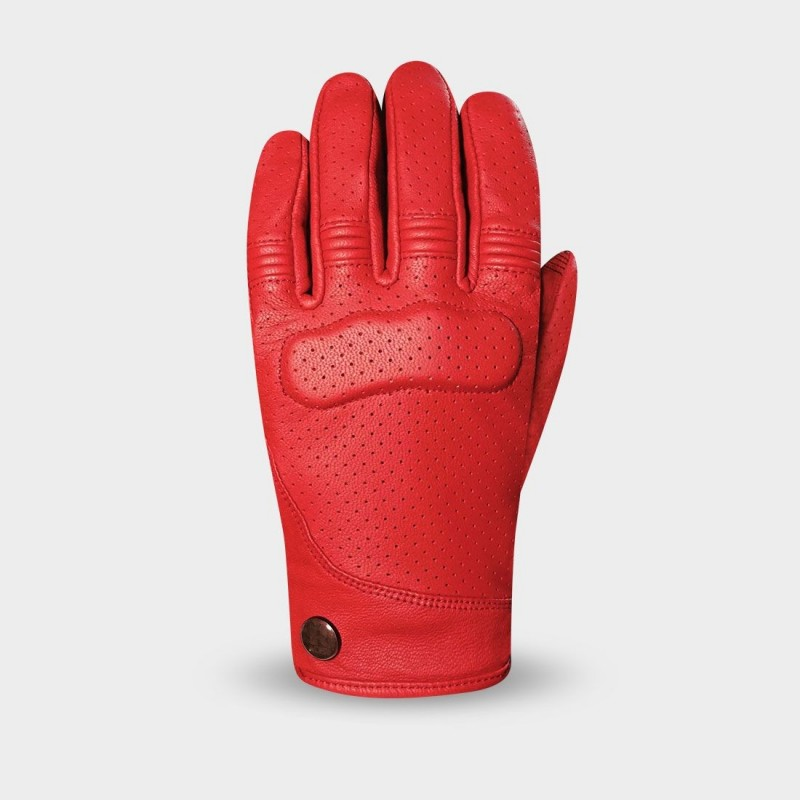 Ladies Motorcycle gloves Shirley red - Racer
