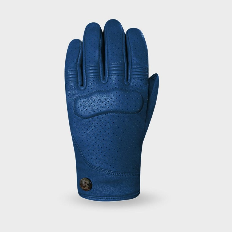 Ladies Motorcycle gloves Shirley blue - Racer