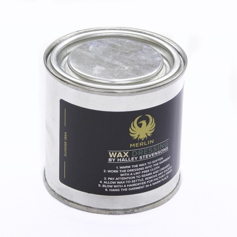 Pot de wax - Merlin - Vue de face