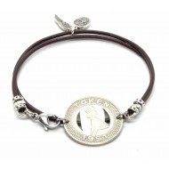 Bracelet Token Hawaii - Black Pearl Créations