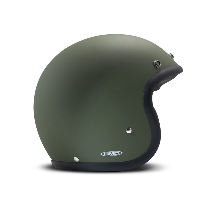 Casque Vintage Matt Green - DMD - Casques